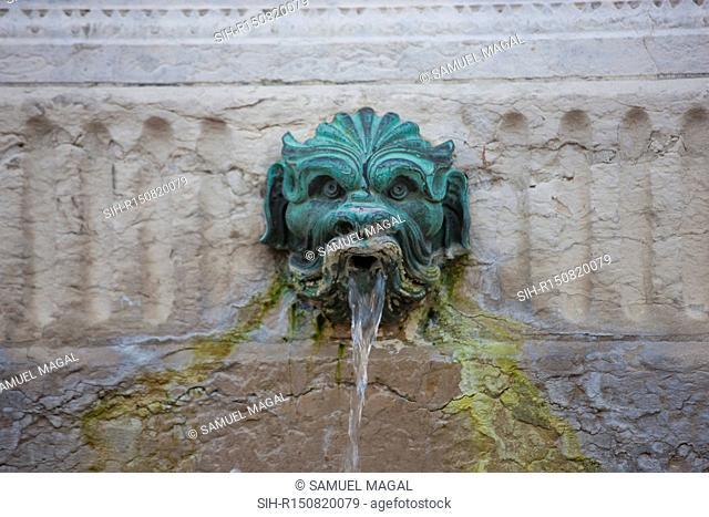 France, Lyon, Place des Jacobins, Fountain