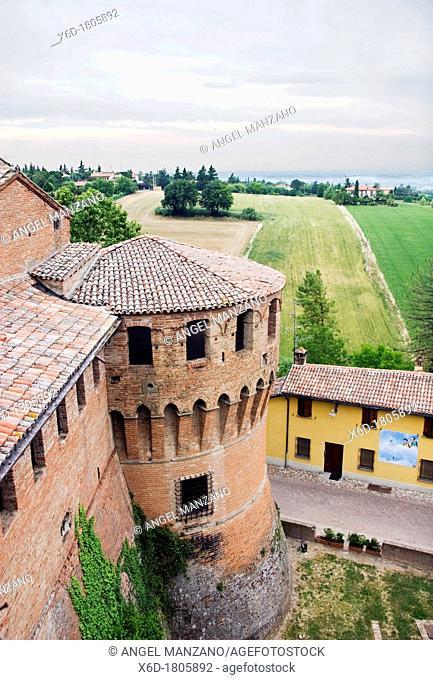 The Rock castle, Dozza, Emilia Romagna