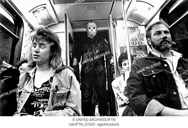 Friday the 13th Part VIII - Jason Takes Manhattan, aka: Freitag der 13 Teil 8 -Todesfalle Manhattan, USA 1989, Regie: Rob Hedden
