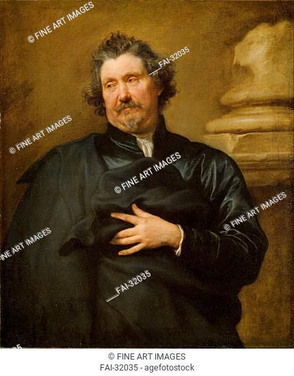 Portrait of Karel van Mallery (1571-1645) by Dyck, Sir Anthony van (1599-1641)/Oil on canvas/Baroque/1641/Flanders/National Museum of Art