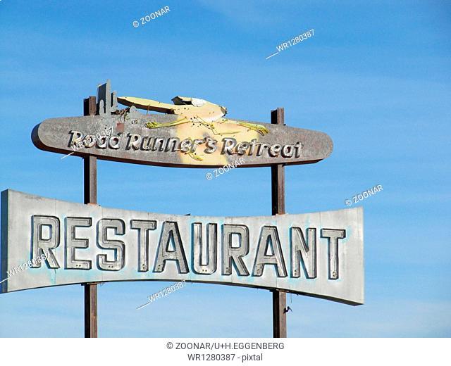 former restaurant ad