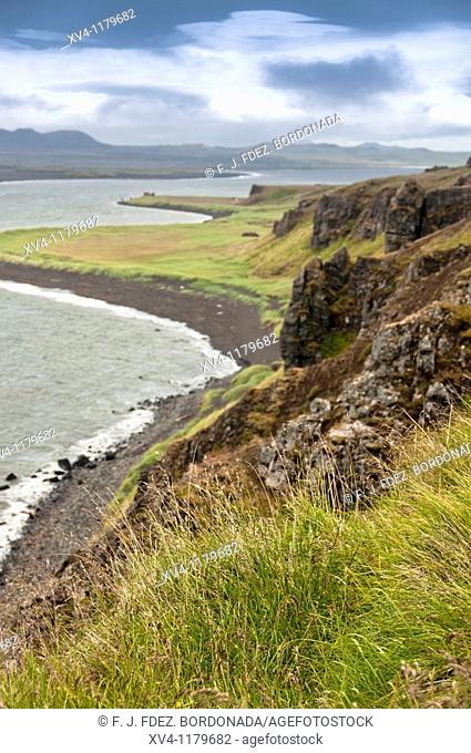 Hvítserkur  Vatnses  North Iceland