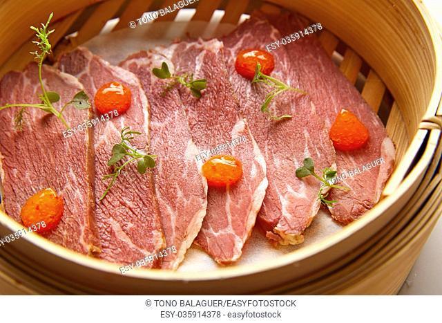 Iberian pork ham with XO sauce recipe