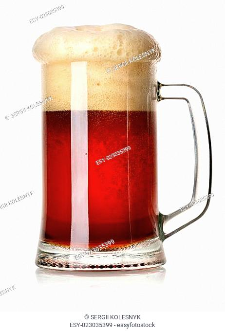 Mug of red beer