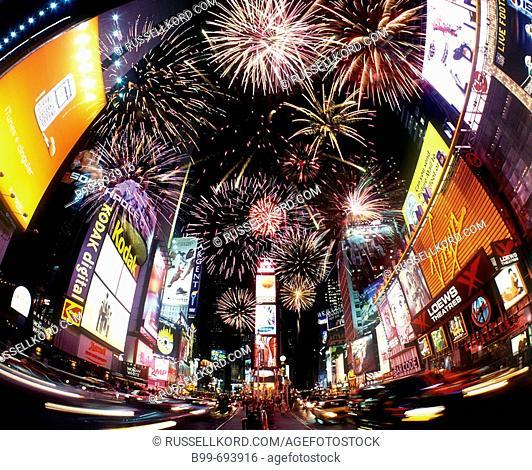 Times Square Midtown. Manhattan. New York. USA