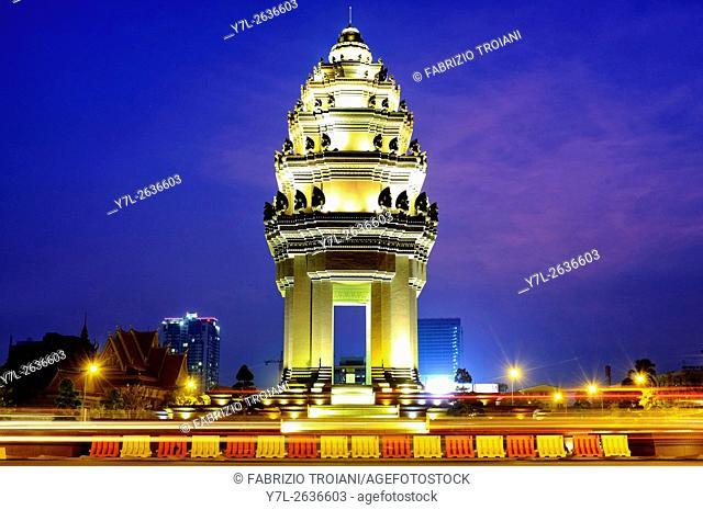 Indipendence Monument, Phnom Penh, Cambodia