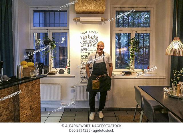 Indonesian restaurant Warung at Hornstull. Stockholm, Sweden