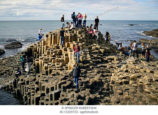Giant's Causeway, Northern Ireland; Ireland