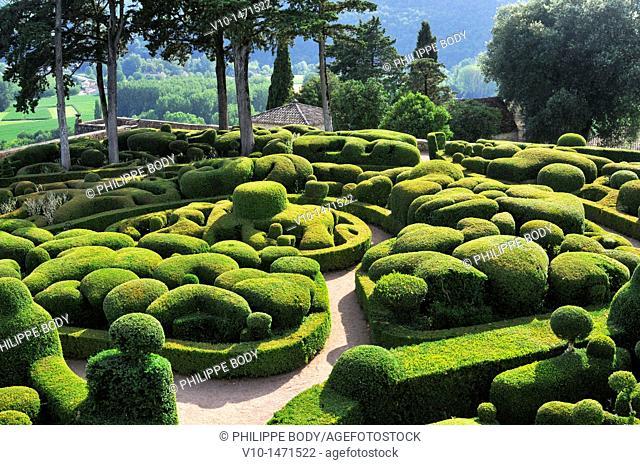 France, Perigord, Dordogne, Park of Marqueyssac