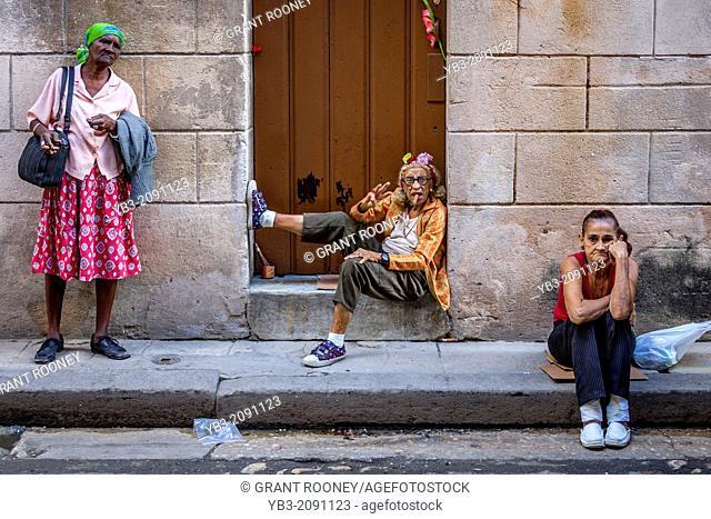 Street Scene, Old Havana, Havana, Cuba