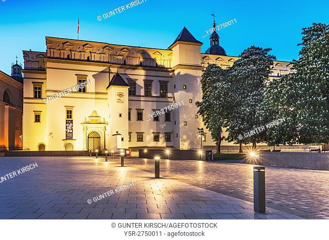 The Palace of the Grand Dukes of Lithuania (Lithuanian: Lietuvos Didziosios Kunigaikstystes valdovu Rumai Vilniaus zemutinÄ—je pilyje) was the residence of the...