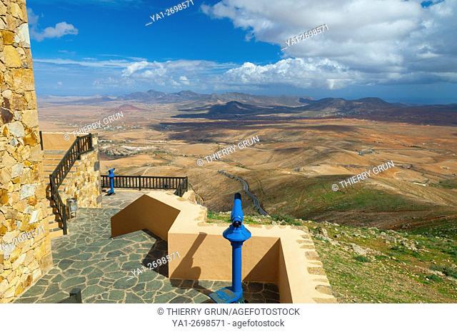 Spain, Canary islands, Fuerteventura, Betancuria, mirador de Morro Velosa