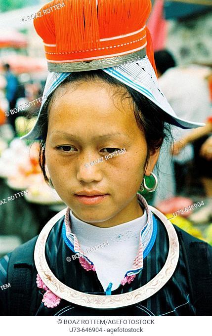 The Geija minority live in Guizhou, China
