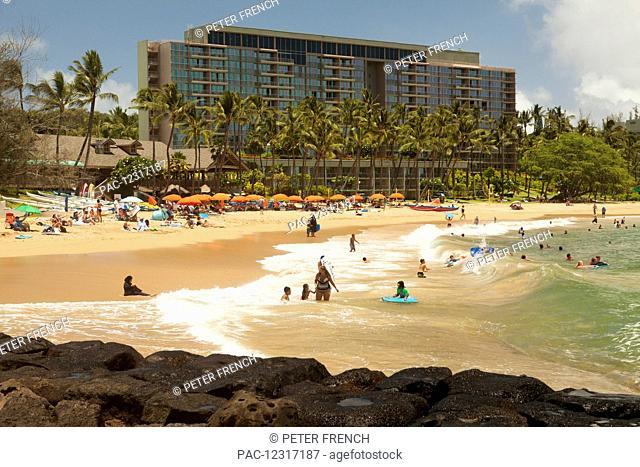 Kauai Marriott Resort and Beach Club, Kalapaki Beach, Nawiliwili Bay; Lihue, Kauai, Hawaii, United States of America