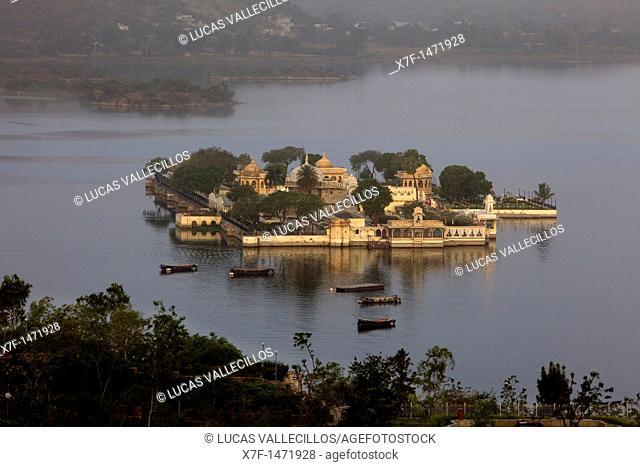 Jagmandir Palace, Lake Pichola,Udaipur, Rajasthan, india