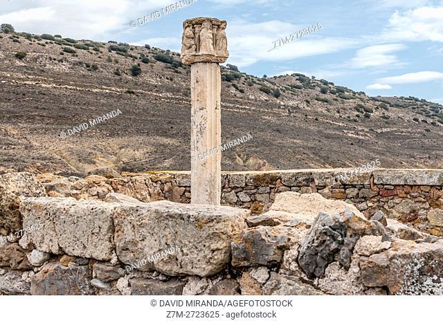 Moya, Cuenca province, Castile la Mancha, Spain. Historic and Artistic Heritage