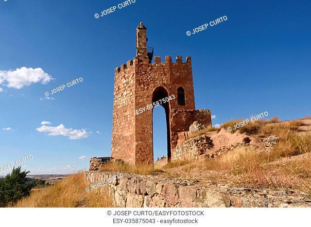 La Martina tower, Ayllon, Segovia province, Castilla Leon,Spain
