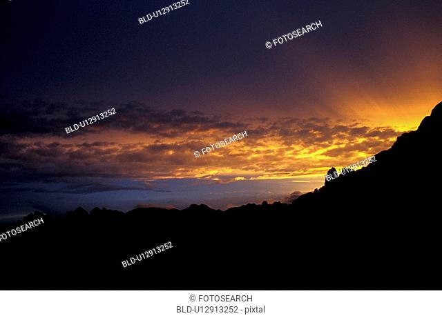 outside, cloudy, orange, josef, day, aichner
