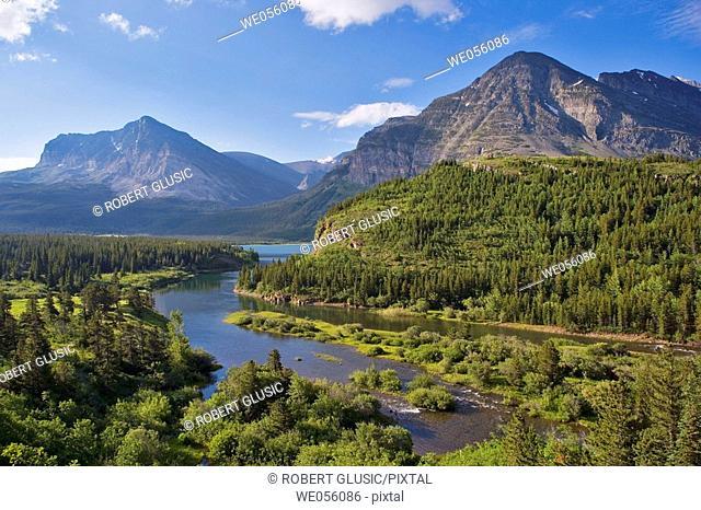 Glacier National Park. Montana, USA