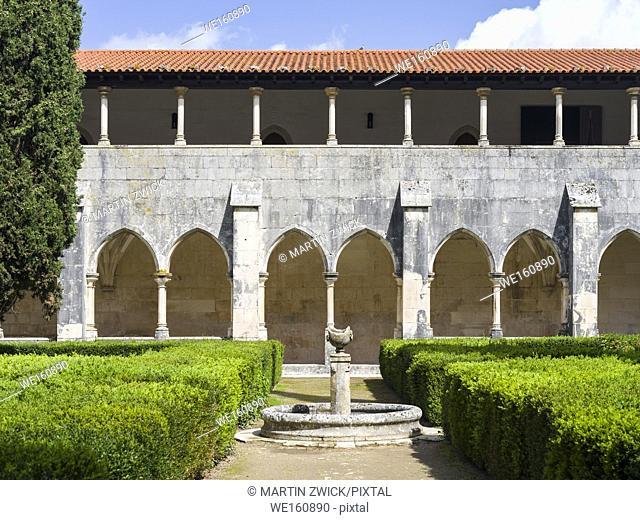 Cloister of king Afonso V. The monastery of Batalha, Mosteiro de Santa Maria da Vitoria, listed as UNESCO world heritage site