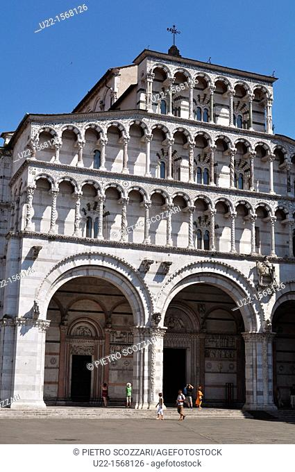 Lucca (Italy): the Cathedral of San Martino