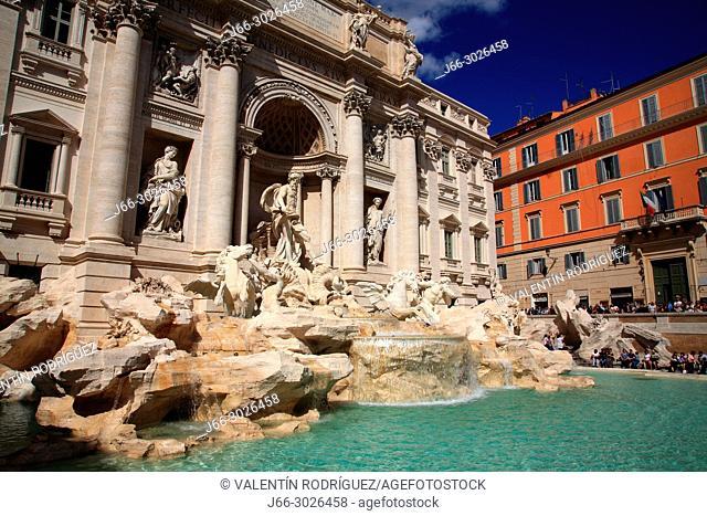 Fontana di Trevi. Rome. Italy