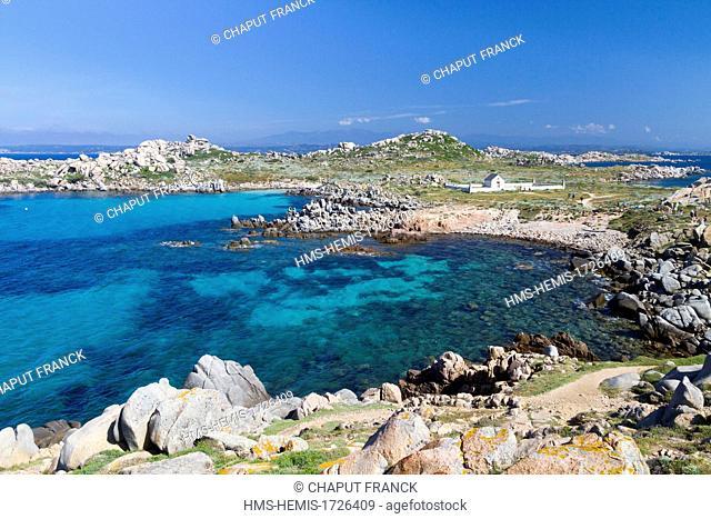 France, Corse du Sud, Lavezzi Islands, Cala di U Ghiuncu