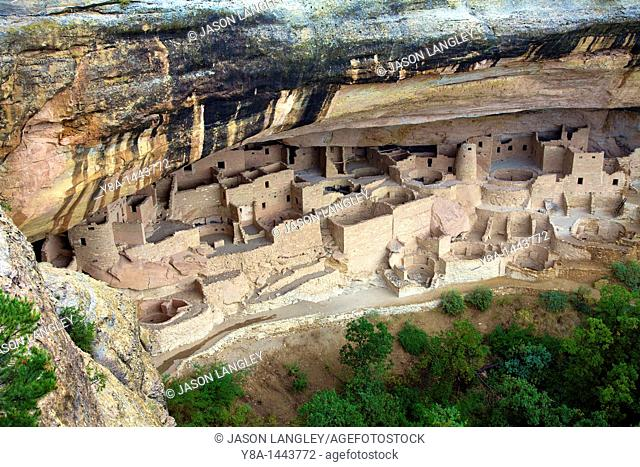 'Cliff Palace' at Mesa Verde National Park, Colorado, United States