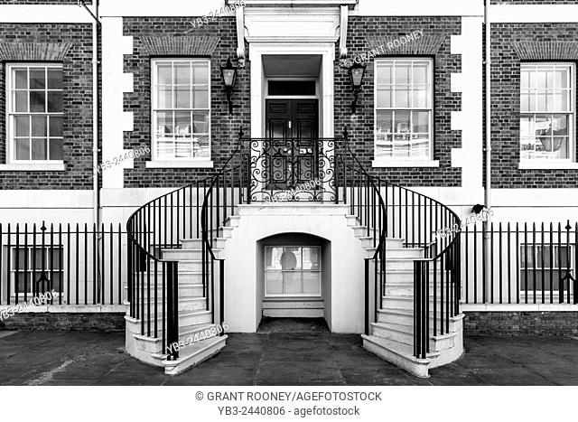 Historic Building, Heron Square, Richmond Upon Thames, London, England