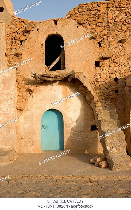 Tunisia - Ksar Ez-Zahra - Ksar used to store goods for men and animals