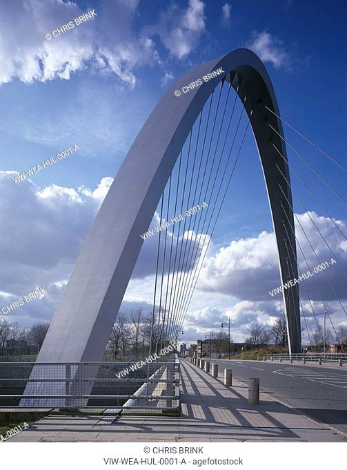 HULME ARCH BRIDGE, STRETFORD ROAD, HULME, MANCHESTER, GREATER MANCHESTER, UK, WILKINSON EYRE ARCHITECTS, EXTERIOR, GENERAL VIEW
