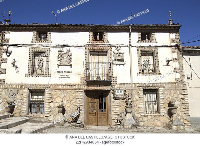 Alcolea del Pinar village in Guadalajara province Castile La Mancha Spain