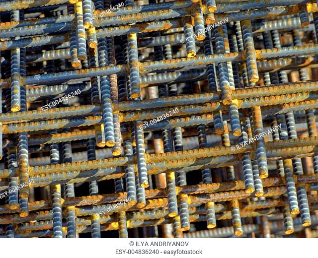 Steel construction of structure building industry
