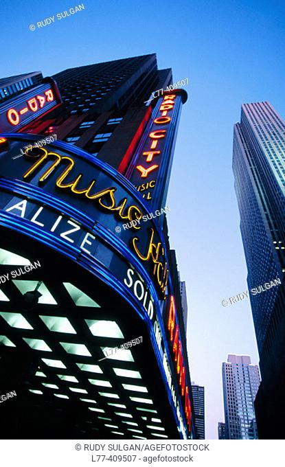 Radio City Music Hall, New York City. USA