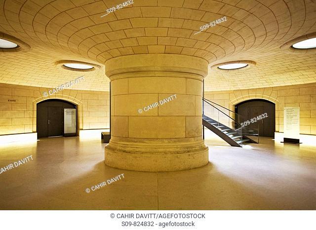 The basement in the Petit Palais Museum in Paris, Ile De France, France