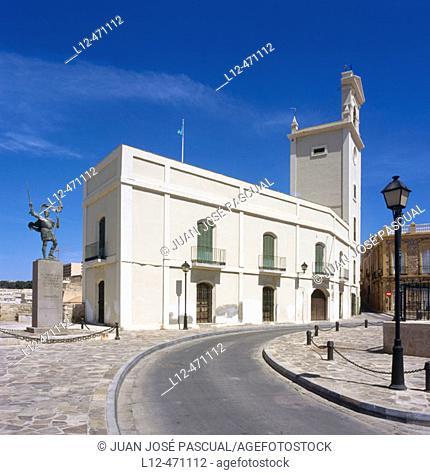Casa del Reloj (House of the Clock), city museum. Melilla, Spain