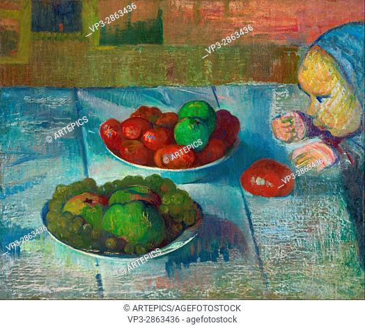 Meijer de Haan - Still life with a profile of Mimi - Van Gogh Museum, Amsterdam