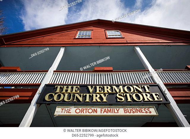 USA, Weston, The Vermont Country Store, exterior