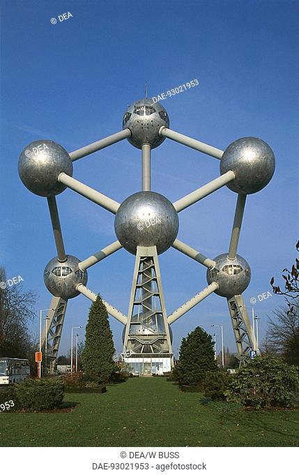 Belgium - Brussels. Atomium