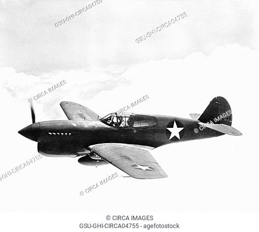 P-40 Single-Engine Fighter Plane, Office of War Information, March 1943