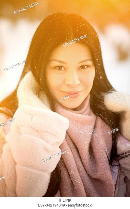 Asian girls snoball