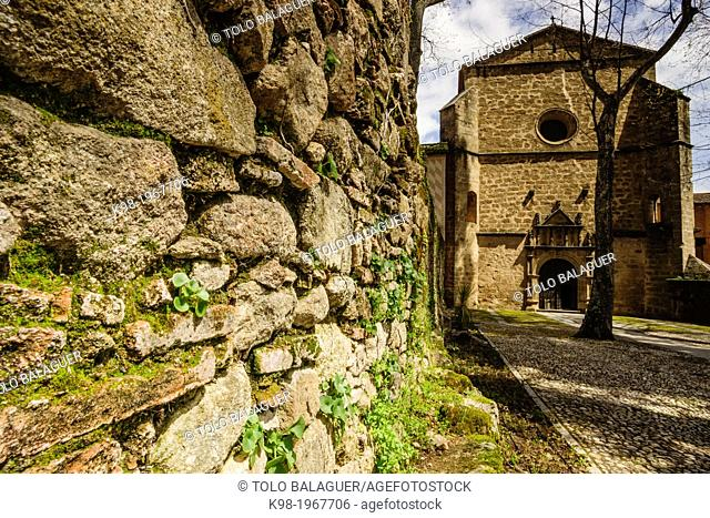 Monastery of San Jeronimo de Yuste, XV century, region of the Vera, Caceres, Extremadura, Spain, europe
