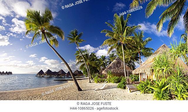 Tahiti, Society Islands, Bora Bora Island, Matira Beach