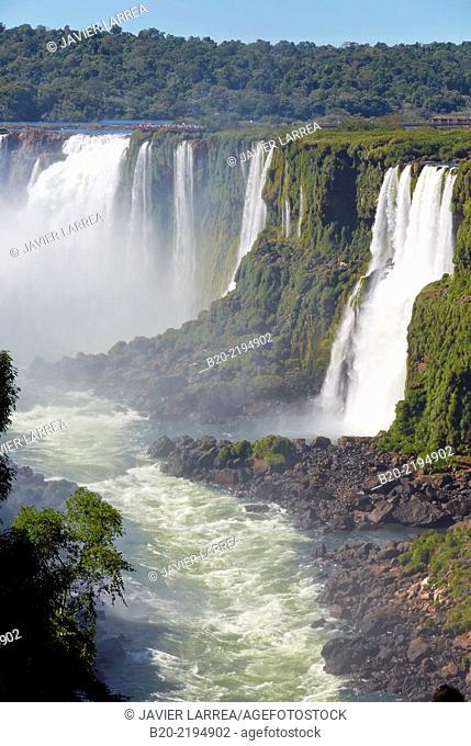 Iguazú Falls. Iguazú National Park. Argentina/Brazil