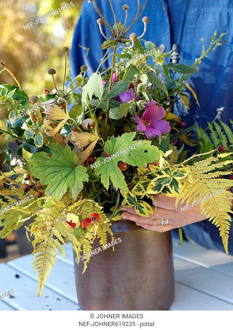 Bunch of flowers, Sweden
