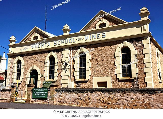 Moonta School of Mines, SA, Australia