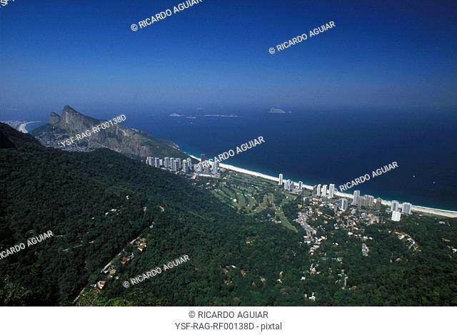 Landscape, São Conrado, Rio de Janeiro, Brazil