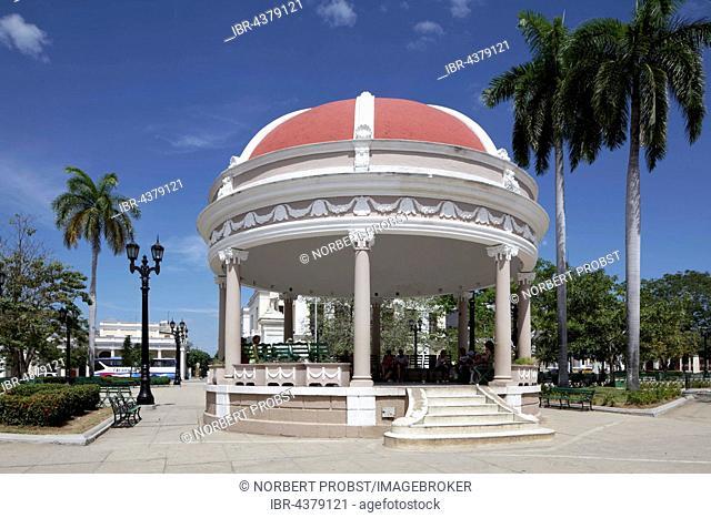 Pavilion, Parque Jose Marti, historic city centre, Cienfuegos, Cienfuegos Province, Cuba
