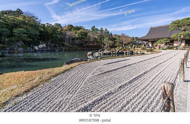 Japanese garden of Tenryū-ji