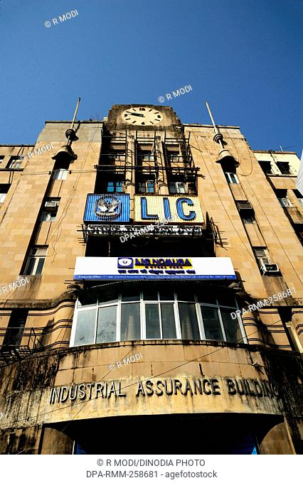 industrial assurance building churchgate, mumbai, maharashtra, India, Asia